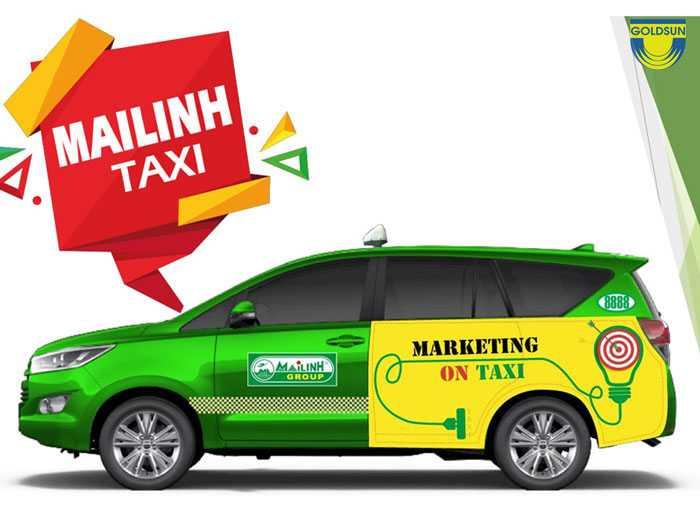 Quảng cáo taxi Mai Linh - 5 hình thức quảng cáo hiệu quả và báo giá mới nhất