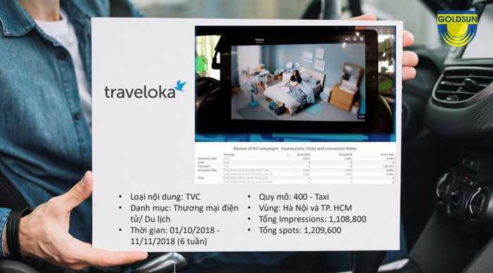 Case studies quảng cáo tvc của đối tác traveloka