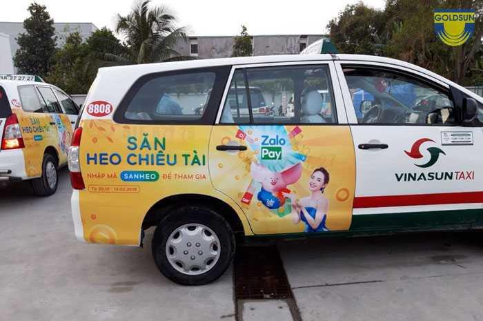 Quảng cáo taxi Vinasun - 5 điều bạn cần quan tâm
