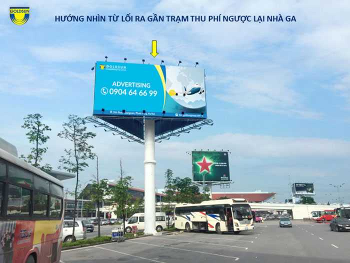 Top 12 billboard in Vietnam airport