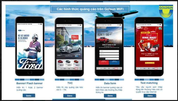 Các hình thức quảng cáo wifi công cộng phổ biến hiện nay