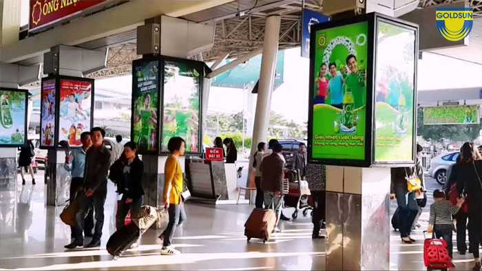 Airport advertising price - The latest update in 2020