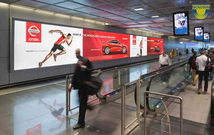The effectiveness of airport advertising - Practical case studies