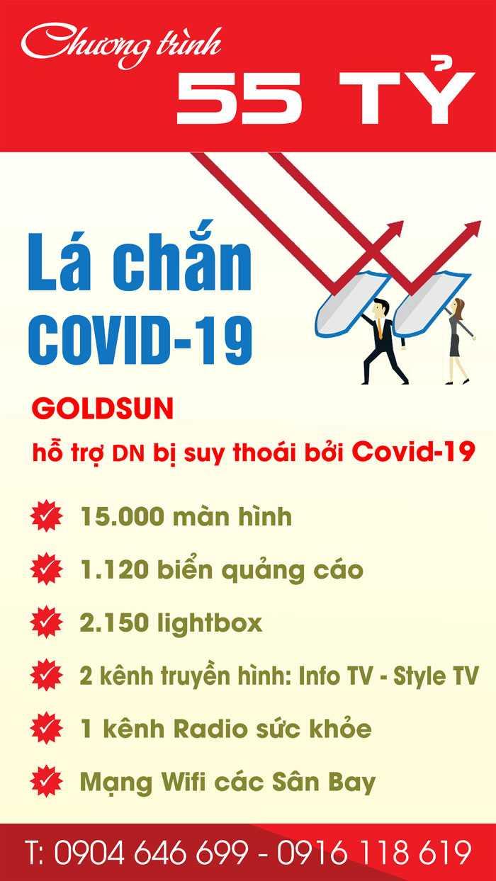 Chương trình 55 Tỷ hỗ trợ DN bị suy thoái bởi Covid-19