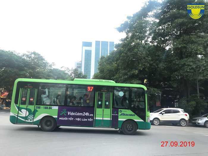 Quảng cáo trên xe bus TP HCM