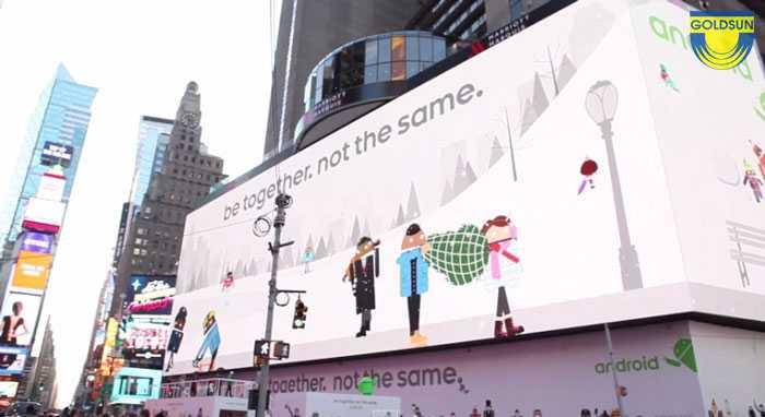 Biển quảng cáo kỹ thuật số của Google