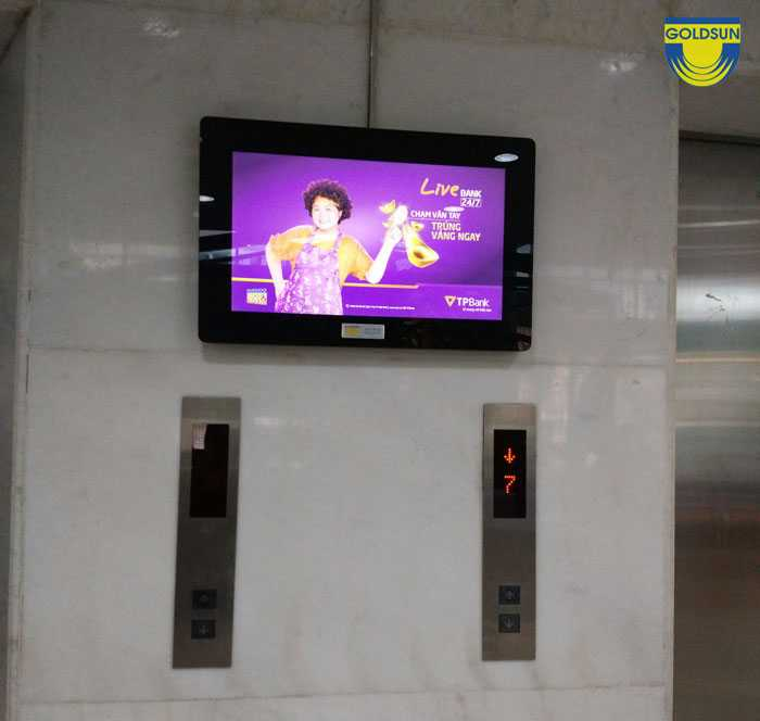 Quảng cáo trong thang máy tại tp HCM