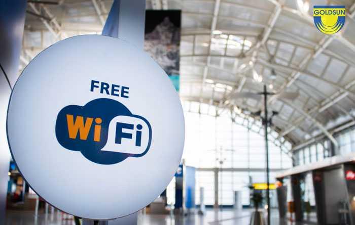 Quảng cáo wifi marketing được Goldsun cung cấp tại các sân bay lớn trên cả nước