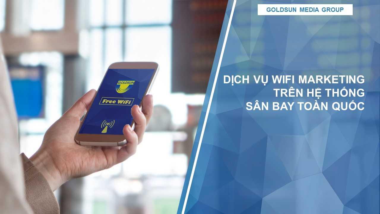 Số hoá quảng cáo ngoài trời với gói quảng cáo trên nền tảng khu vực sân bay Airport Digital