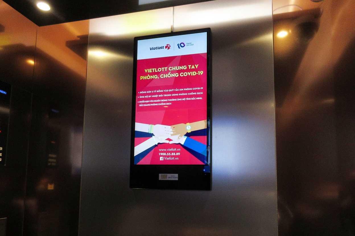 Cách mạng Digital OOH và quảng cáo trong thang máy