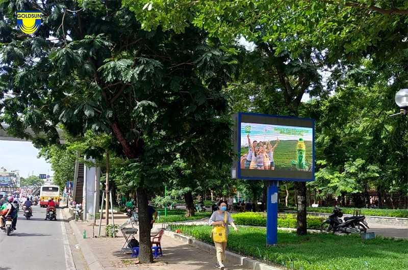 Quảng cáo trong công viên