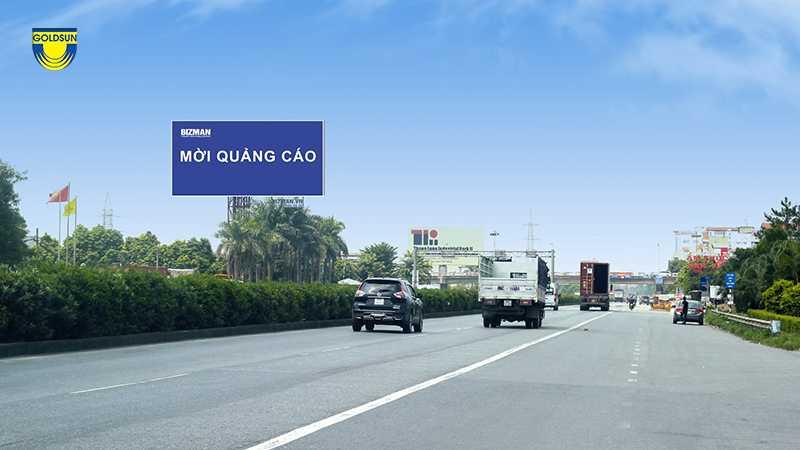 biển quảng cáo hai bên đường