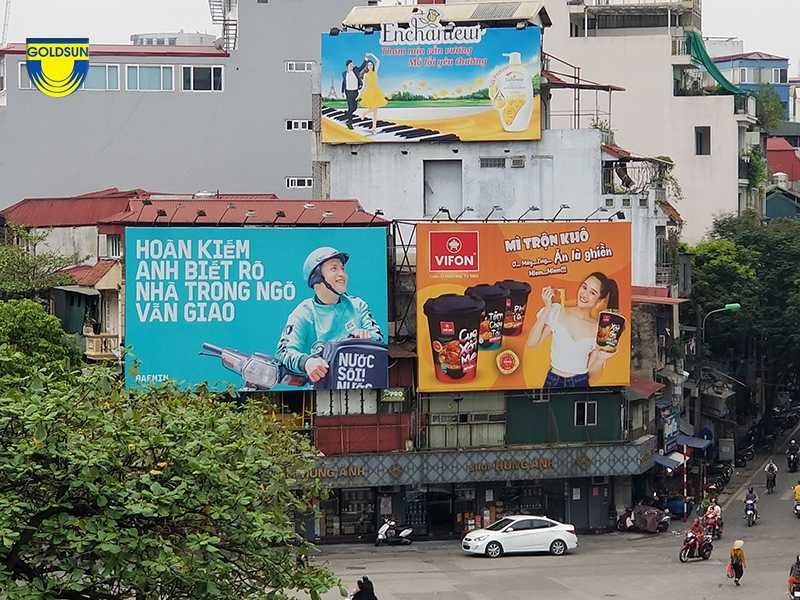 quảng cáo giao đồ ăn